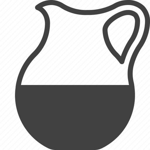 glass, jar, jug, milk icon