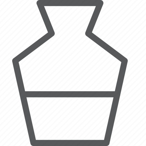 bottle, drink, fluid, fresh, hydrate, plain, water icon