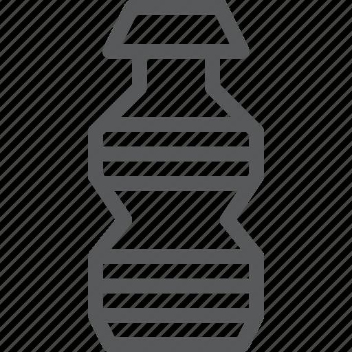 bottle, drink, fluid, hydrate, plain, water icon