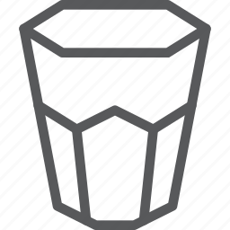 drink, fluid, glass, hydrate, natural, plain, water icon