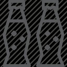 beverage, bottle, bubble, drink, fluid, pop, soda icon