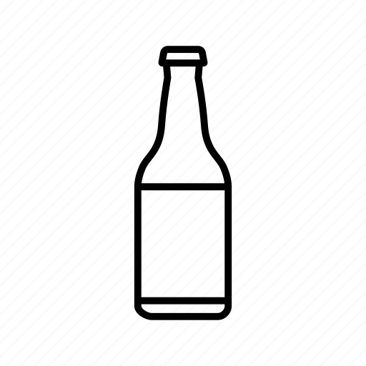 beer, bottle, drink, icons icon