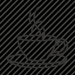 cafe, coffee, cup, cup of tea, mug, tea icon