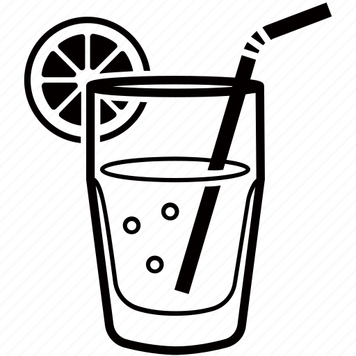 beverage, cocktail, drink, lemon, lemonade, soda icon