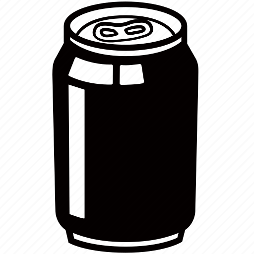 aluminium, beer, can, drink, pop, soda, soft icon