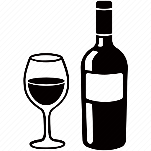 alcohol, bottle, byo, champagne, glass, red, wine icon