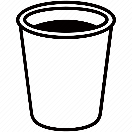 beer, beverage, coffee, cup, drink, paper, plastic icon