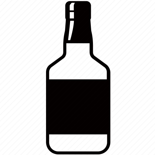 alcohol, bottle, bourbon, liquor, rum, spirits, whiskey icon