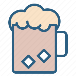 alcohol, beer, beverage, cold, drink, glass icon