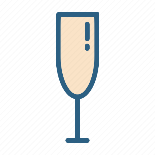 champagne, drink, glass, wine icon