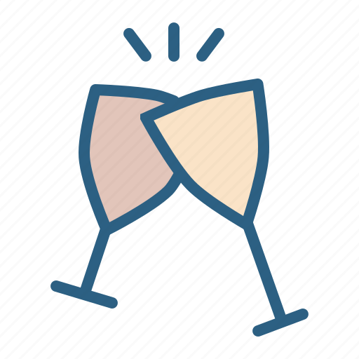 alcohol, celebrate, cheers, drink, glass, wine icon