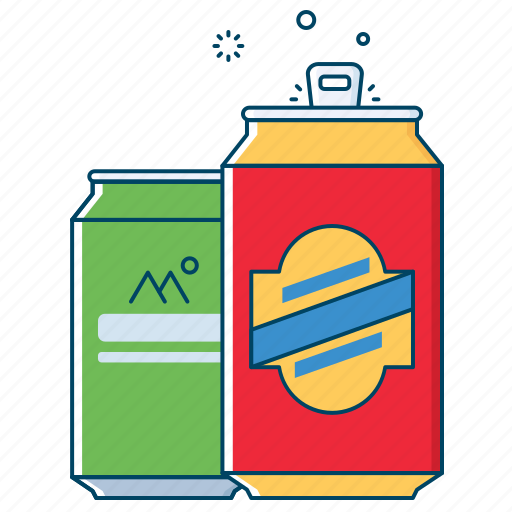 alcohol, beer, cane, drink, juice, liquor, tin icon