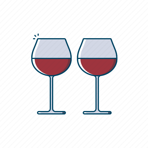 Alcohol, beer, beverages, drink, glass, grapes, red wine icon - Download on Iconfinder