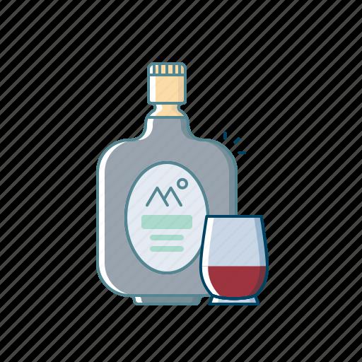 alcohol, beer, beverages, bottle, drink, monk, old icon