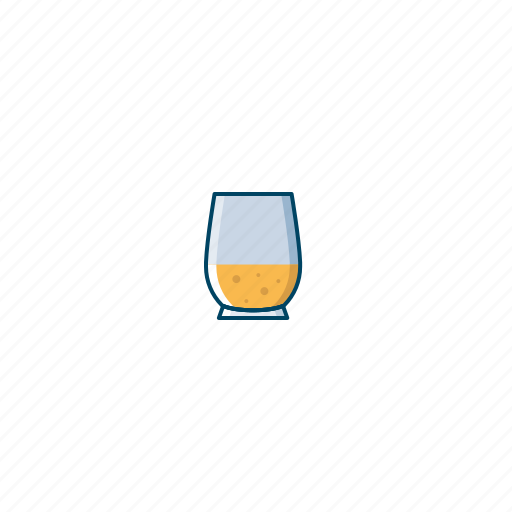 alcohol, beer, cocktail, drink, glass, orange, party icon