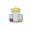 alcohol, cocktail, drink, glass, party, shots, tequila icon