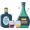 alcohol, beer, beverages, bottle, drink, old monk, vodka icon