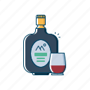 alcohol, beer, beverages, bottle, drink, old monk, summer icon