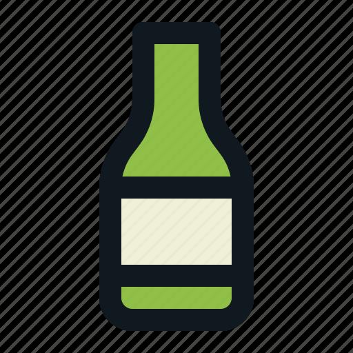 Alcoholic, beer, beverage, bottle, drink, liquid icon - Download on Iconfinder
