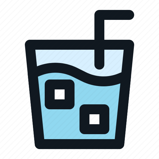 beverage, cold, drink, iced, liquid icon