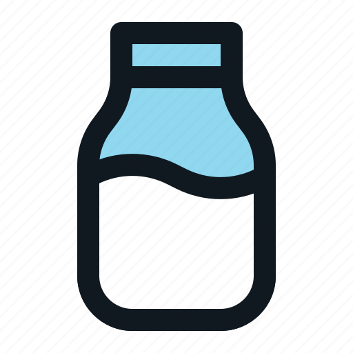 beverage, bottle, drink, liquid, milk icon