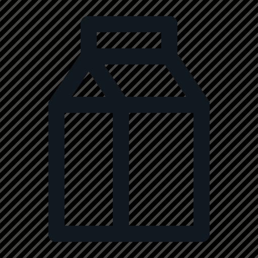 Beverage, drink, liquid, milk, tetrapack icon - Download on Iconfinder