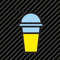 beverage, drink, lemon, milk, milkshake, shake, smoothie icon