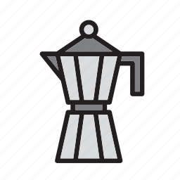 beverage, coffee, drink, drinking, italian, italy, maker icon