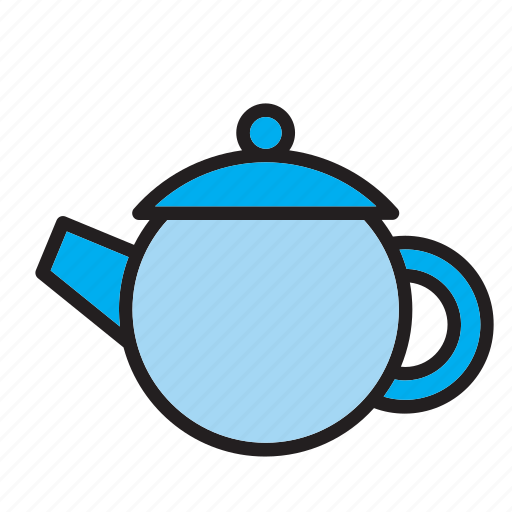 beverage, drink, pot, tea, teapot icon