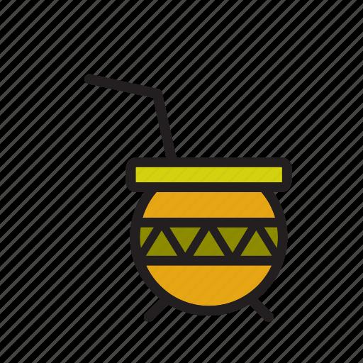 argentina, beverage, drink, mate, tea icon
