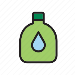 beverage, bottle, canteen, drink, water icon