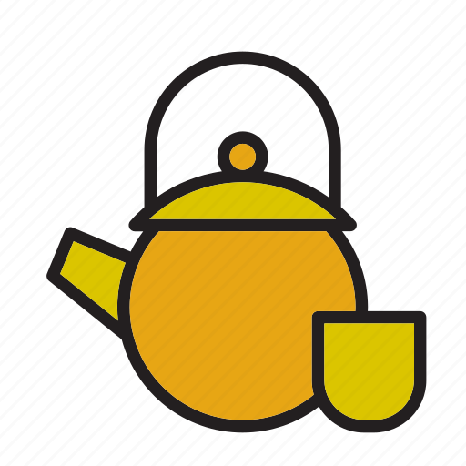 beverage, drink, tea, teapot icon