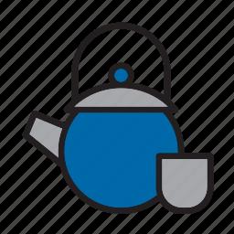 beverage, drink, tea, teapot icon