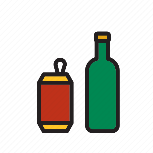 beverage, bottel, can, drink, glass, recycle, recycling icon