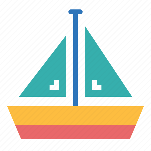 Boat, sailboat, sailing, travel icon - Download on Iconfinder