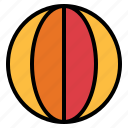 ball, beach, holidays, summer icon