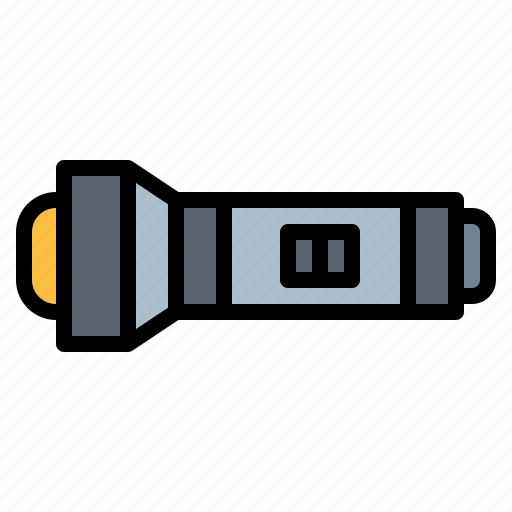 Diving, equipment, flashlight, light, torch icon - Download on Iconfinder