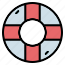 float, life, preserver, ring, rubber, sefety