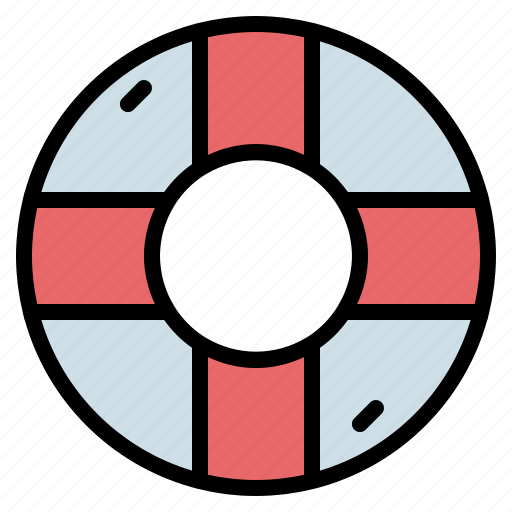 Float, life, preserver, ring, rubber, sefety icon - Download on Iconfinder