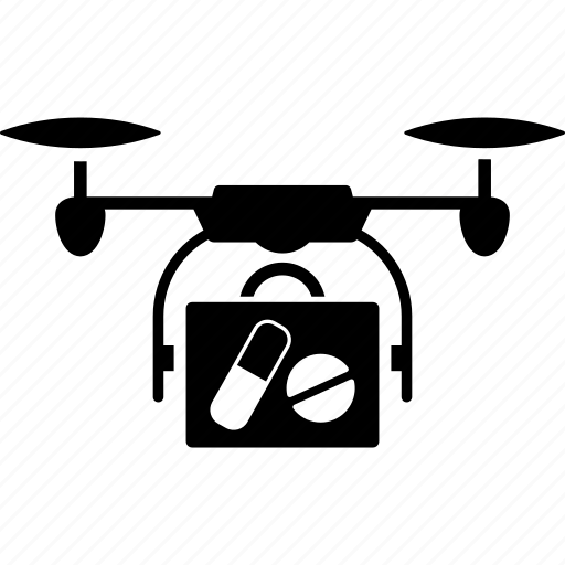 aircraft, delivery, drone, flying copter, medical, nanocopter, quadcopter icon