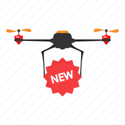copter, delivery, drone, new, quadcopter icon