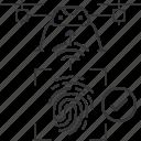 check, drone, fingerprint, id, uav