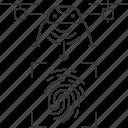 drone, fingerprint, id, signal, uav
