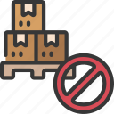 no, inventory, prohibited, packages, parcels