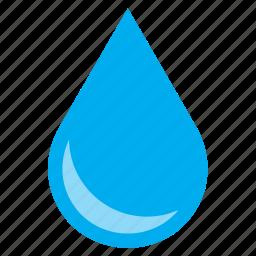 drop, droplet, raindrop, shine, shiny, water icon