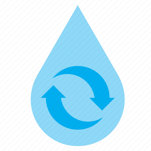 drop, droplet, eco, recycle, recycling, save, water icon