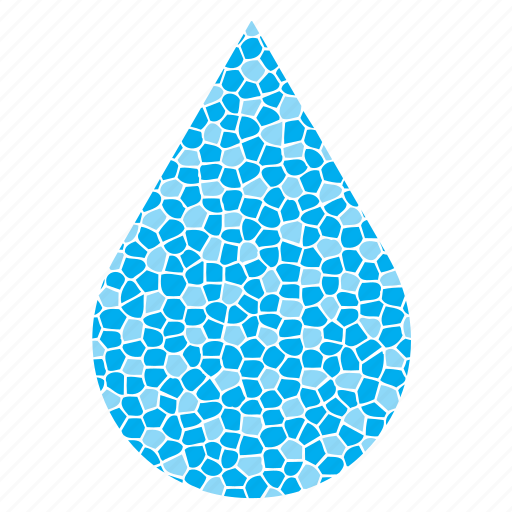 brittle, drop, droplet, raindrop, water icon