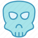 anatomy, death, drugs, poison, skeleton, skull icon