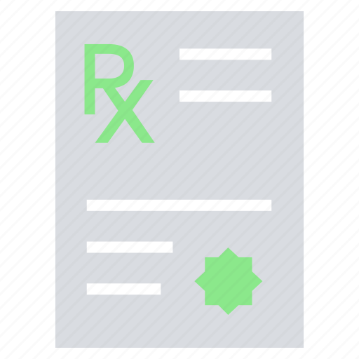 drugs, medical report, medicine paper, paper, pharmacy document icon