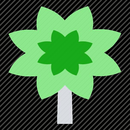 cannabis, drugs, flower, hemp icon